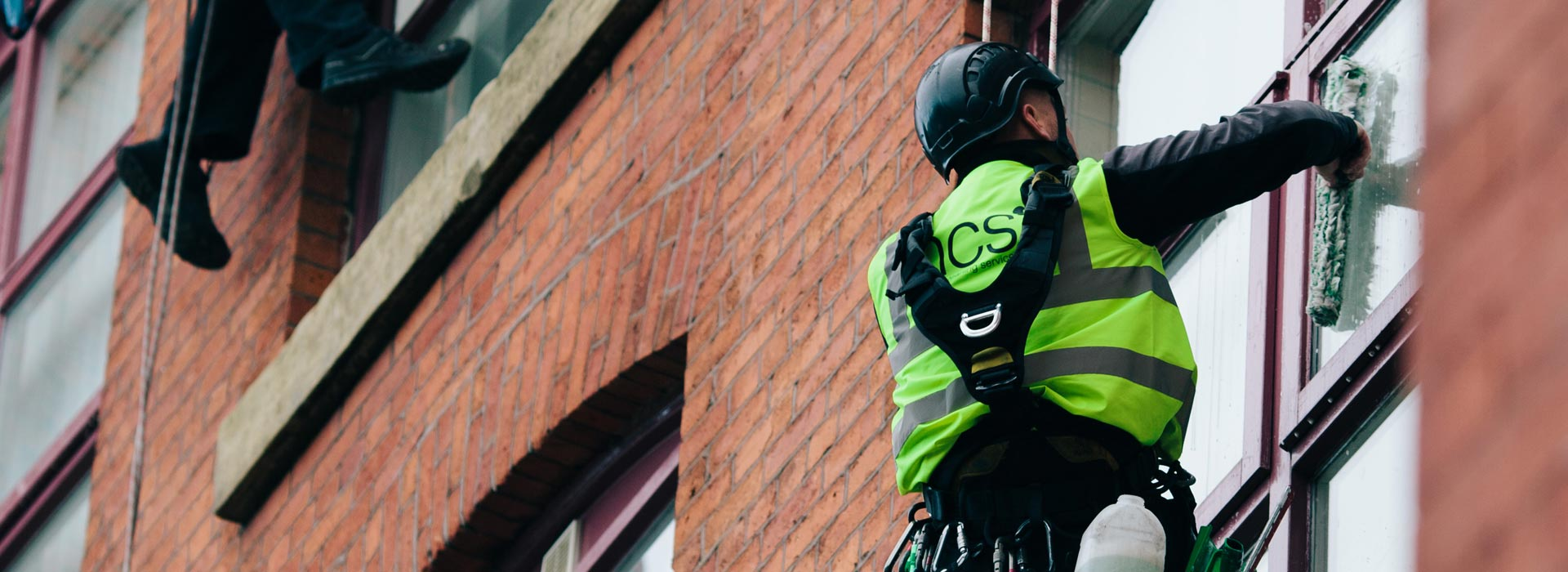 Abseiling and Rope Access Window Cleaning in the North West - HCS Cleaning Services