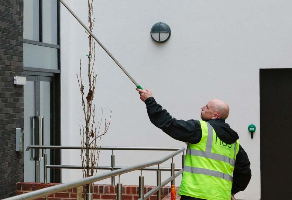 Professional Window Cleaning in Manchester and the Northwest - HCS Cleaning Services