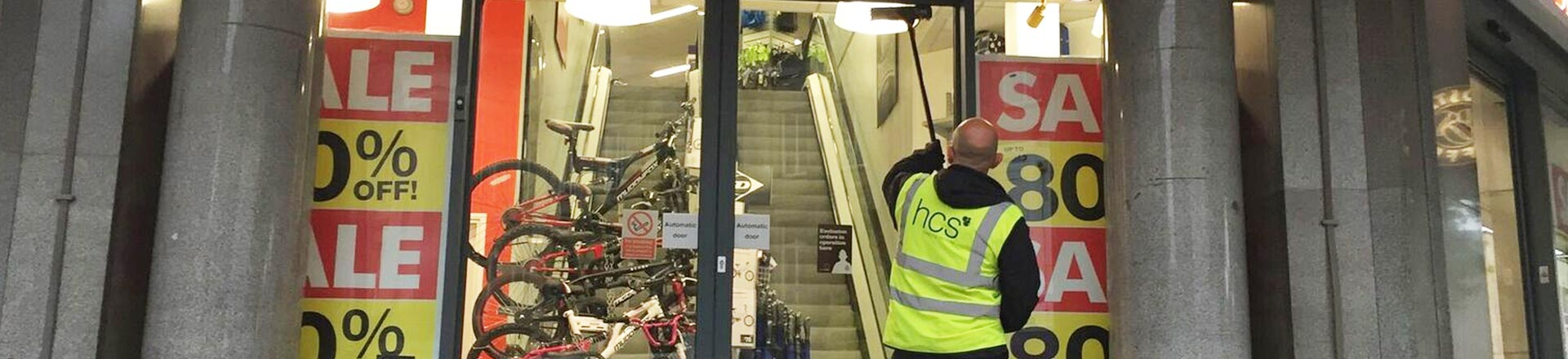 Commercial Window Cleaning Services in Manchester and the North West - HCS Cleaning Services