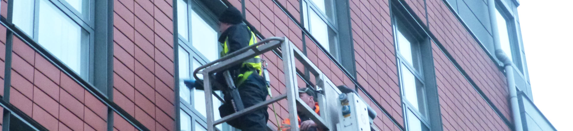 High Level Window Cleaning in Manchester and the Northwest - HCS Cleaning Services
