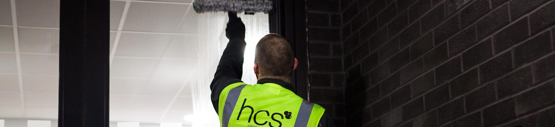 Traditional Window Cleaning in Manchester and the North West - HCS Cleaning Services