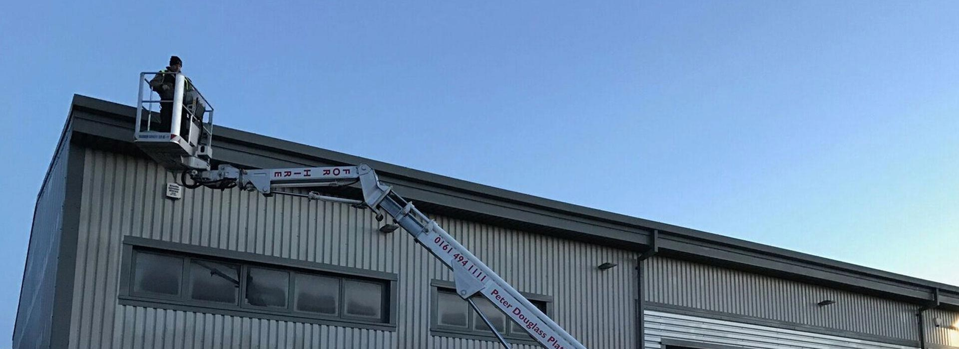 Ladderless Gutter Cleaning Services in Manchester and the North West - HCS Cleaning Services