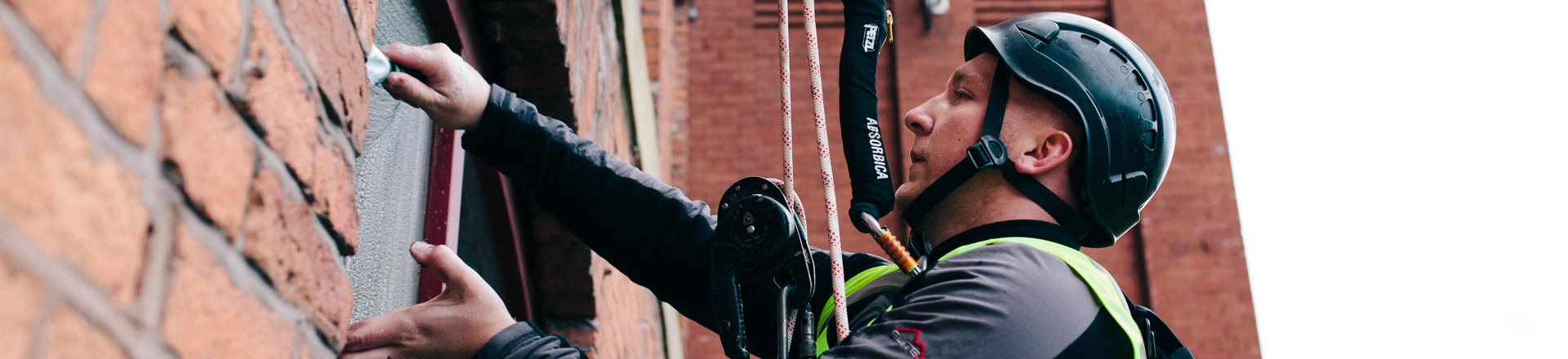 Abseiling/Rope Access Window Cleaning in Nottingham - HCS Cleaning Services