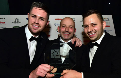 HCS Cleaning Services awarded Family Business of the Year 2018