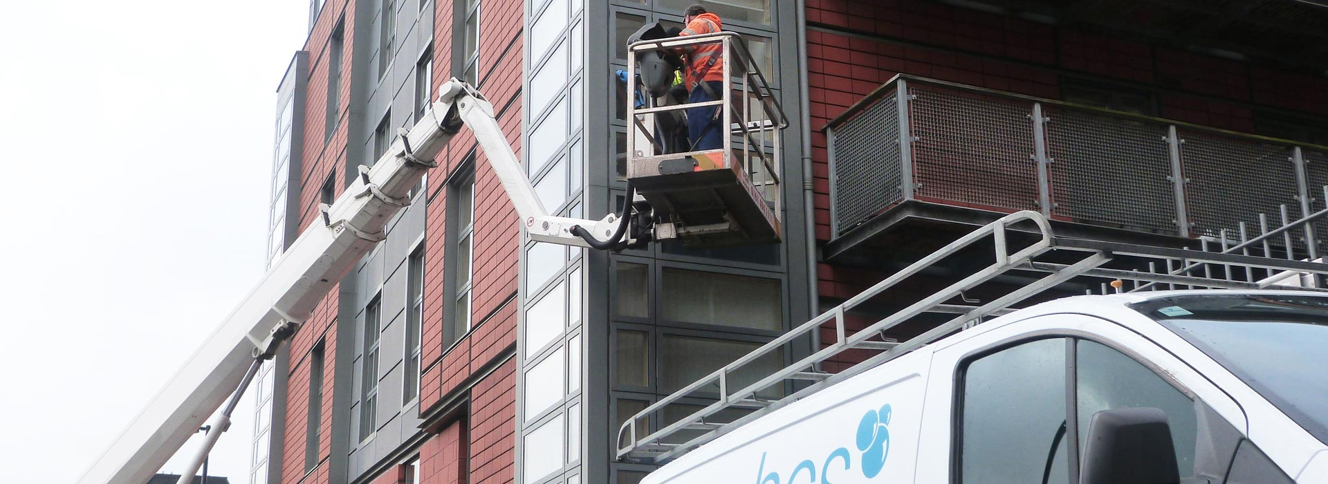 High Level Window Cleaning in Manchester and the North West - HCS Cleaning Services