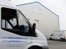 Industrial Security Door Fitters Warrington