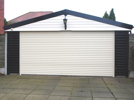 Automatic Roller Garage Door